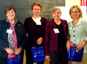 Ann Cobleigh, Jo-Ann Berry, Karen Price, Carin Kale