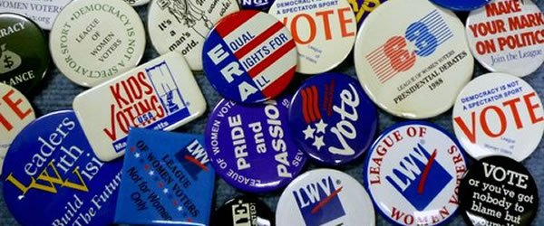 LWV Buttons Through the Years [slide]
