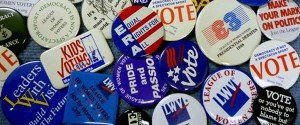 LWV Buttons Through the Years