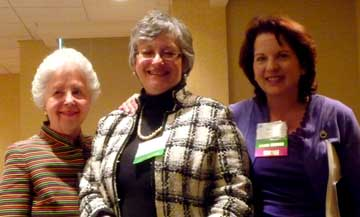 Marilyn Peterson, Eva Valentine, Anne Borg