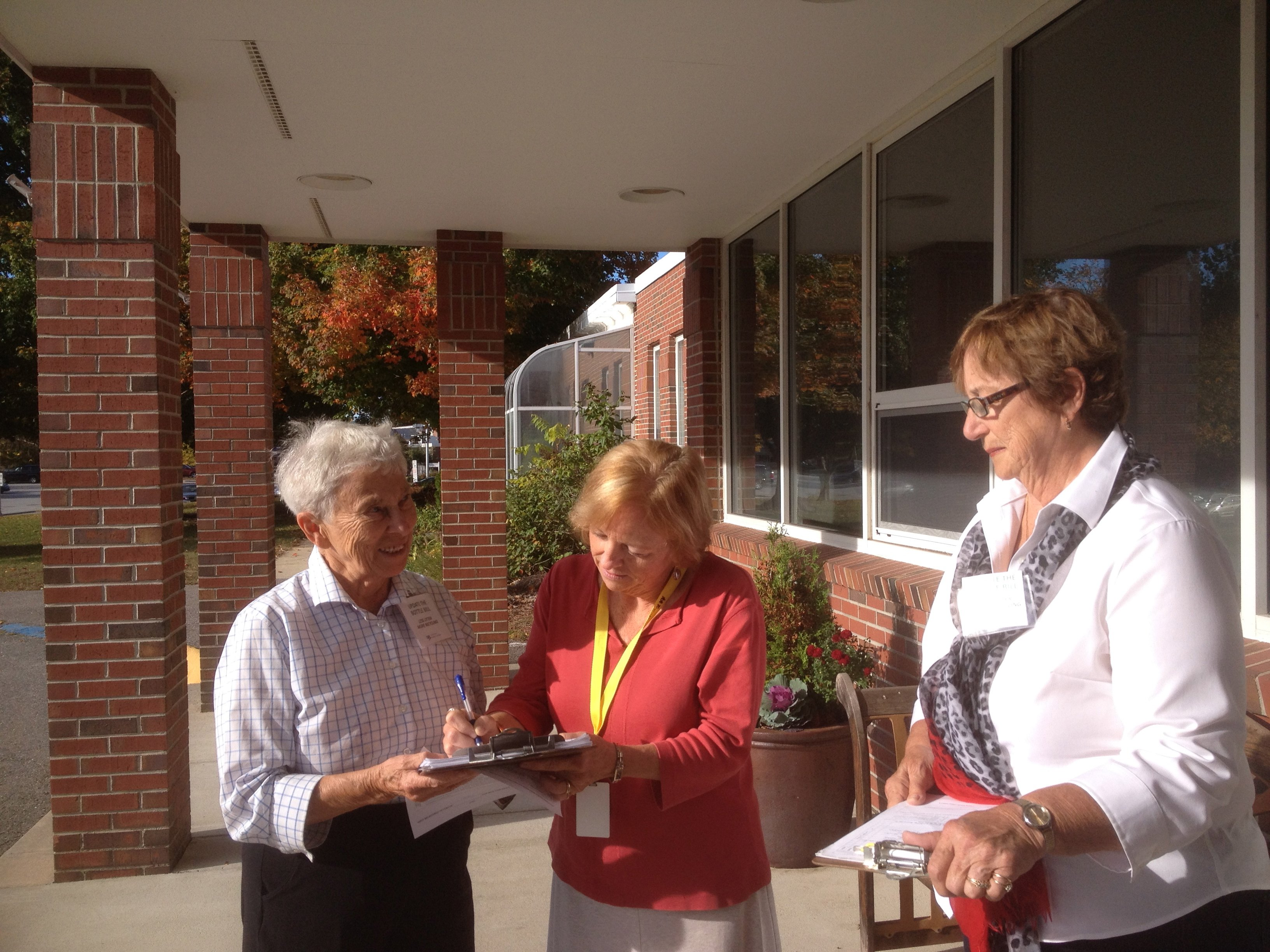 Collecting signature in Groton