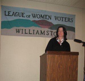Rhode Island Lt. Governor Elizabeth Roberts